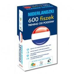 Niderlandzki. 600 fiszek. Trening od podstaw.  (600 fiszek + CD-ROM z programem i nagraniami MP3 + przegródki)