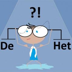 Rodzajnik określony, de czy het – w języku niderlandzkim