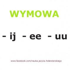 Wymowa -ij  -ee -uu w języku niderlandzkim [wideo]