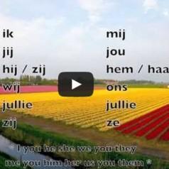 Zaimki osobowe w języku niderlandzkim – persoonlijk voornaamwoord in het Nederlands [wideo]