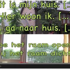 Nauka niderlandzkiego. Dom i ogród. Nederlands leren. Huis en tuin. [wideo]
