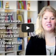 Lekcja 6 – nauka holenderskiego z popolsku.tv – Holandia [wideo]