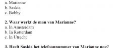 Test 1 – Słuchanie język niderlandzki