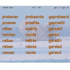 Czas przeszły  – czasowniki słabe(regularne) od P do Z część 2 [wideo+pdf]