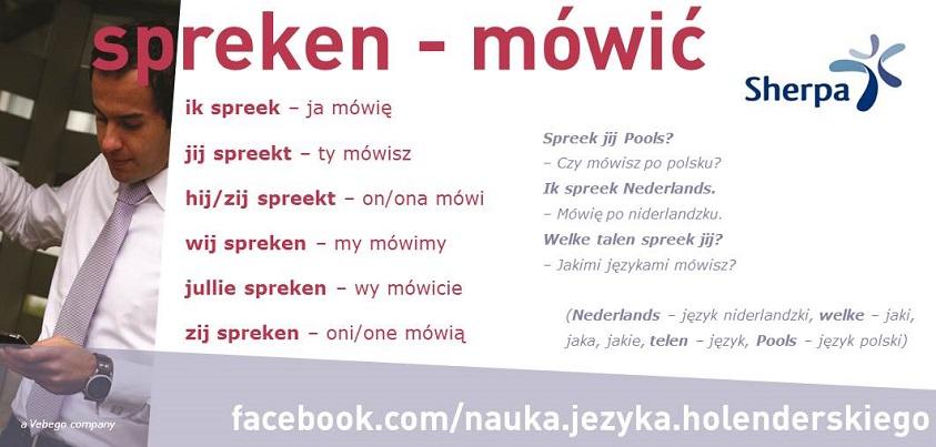 10 spreken mówić