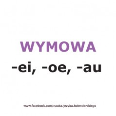 Wymowa w języku niderlandzkim -ei, -oe, -au [wideo]