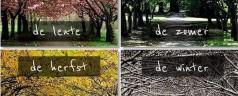 Miesiące i pory roku. Maanden en seizoenen in het Nederlands. [wideo]