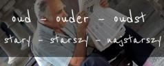 Stopniowanie i użycie przymiotnika oud – stary, stara, stare w języku niderlandzkim