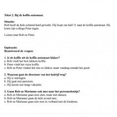 Test 2 – Słuchanie język niderlandzki