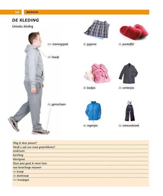 Van Dale beeldwoordenboek - Nederlands przykładowa strona