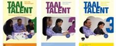 Taaltalent 1, 2, 3 – książki dla osób uczących się języka niderlandzkiego ze średnim i wyższym wykształceniem