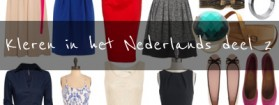 Kleren in het Nederlands deel 2 – Ubrania w języku niderlandzkim cześć 2 [wideo]