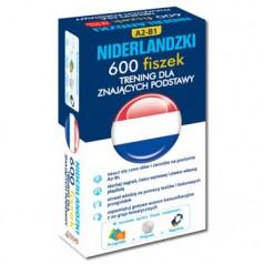 Niderlandzki. 600 fiszek. Trening dla znających podstawy (600 fiszek + CD-ROM z programem i nagraniami MP3 + przegródki)