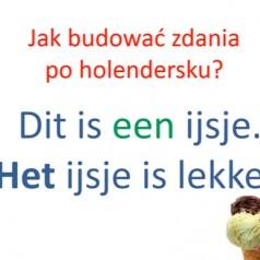 Jak budować zdania po holendersku [lekcja wideo]