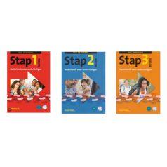 STAP 1 2 3 seria książek do nauki języka niderlandzkiego [+CD Audio]
