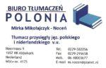 Biuro Tłumaczeń Polonia Mirka Mikołajczyk-Noceń