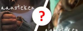 Dwa znaczenia czasownika aansteken w języku niderlandzkim