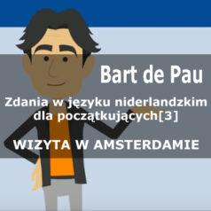 Zdania w języku niderlandzkim dla początkujących [dialog 3][wideo]