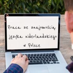 Praca ze znajomością języka niderlandzkiego w Polsce