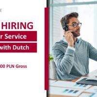 Młodszy specjalista ds. realizacji zamówień z językiem niderlandzkim