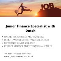 Junior Finance Specialist Dutch Speaker