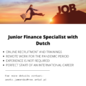 Junior Finance Specialist Dutch Speaker